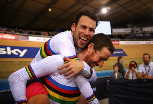 Wiggins in Cavendish svetovna prvaka na velodromu!