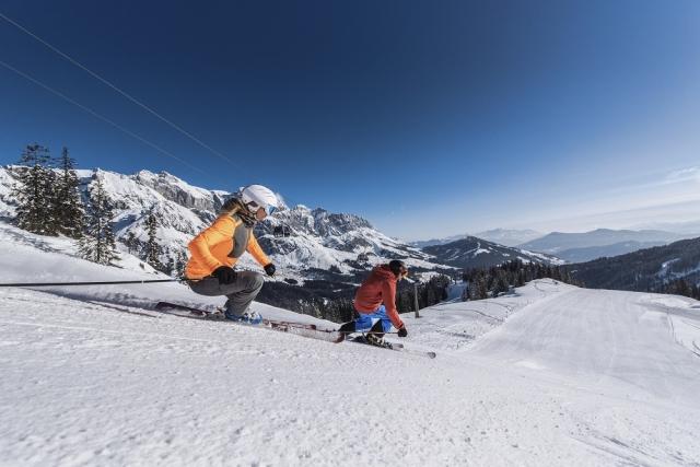 Zima v smučarskem središču Hochkönig - na vrhu doživetij