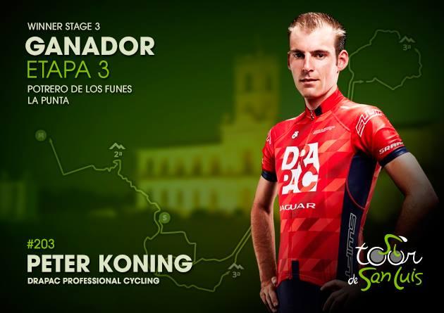Koning presenetil sprinterje, Matej Mohorič z najboljšimi