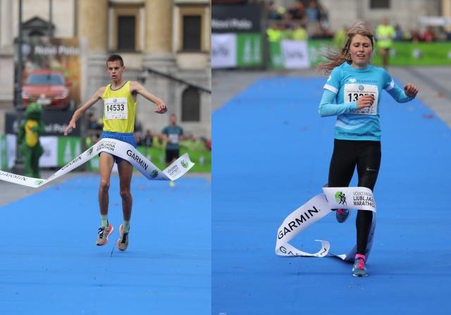 22. Ljubljanski maraton, Maruša Mišmaš in Jan Kokalj zmagovalca na 10 kilometrov