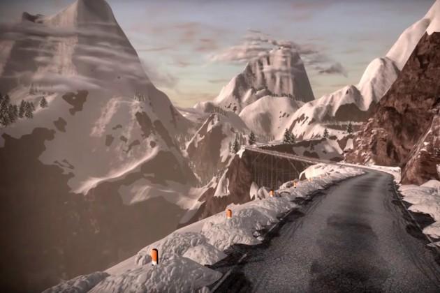 Zwift v zadnji razširitvi proge Watopie dodal spektakularen vzpon