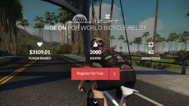 Pridružite se Treku in bodite dobrodelni s kolesarjenjem na Zwiftu