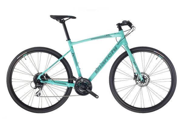 Prodam skoraj novo kolo BIANCHI C-SPORT 2 C1 2020 (treking/flatbar) + pedala Time LINK Hybrid