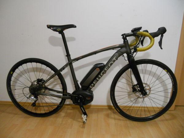 Cestno dirkalno kolo E-bike Peugeot Bosch kot Pinarello,Colnago 45km/h