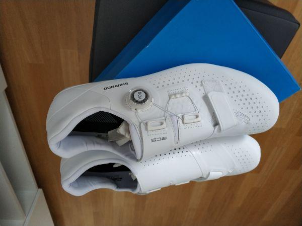 kolesarski cestni čevlji Shimano SH-RC500 wide- široki št.45