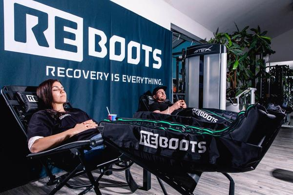 Reboots Go, regeneracijski škornji