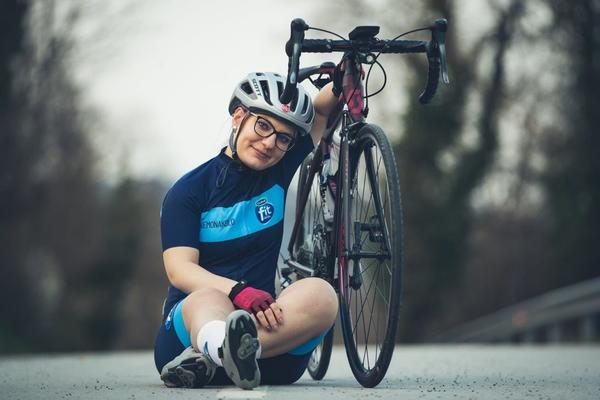Tadeja Zavec - Po hudi nesreči, znova na kolesu