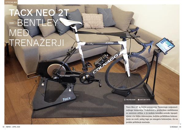 Tacx Neo smart 2 - Bentley med trenažerji