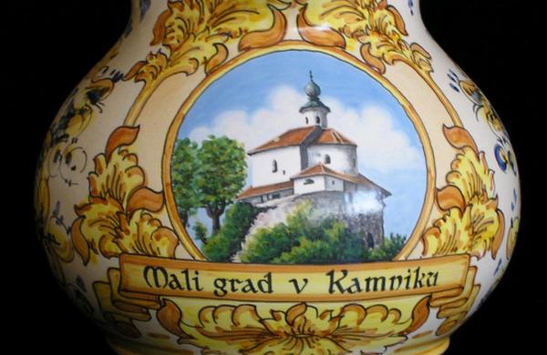 Slovenija: Za kraljevsko etapo Kamniška majolika