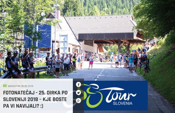 Navijači 4. etapa Dirke po Sloveniji bodo nagrajeni