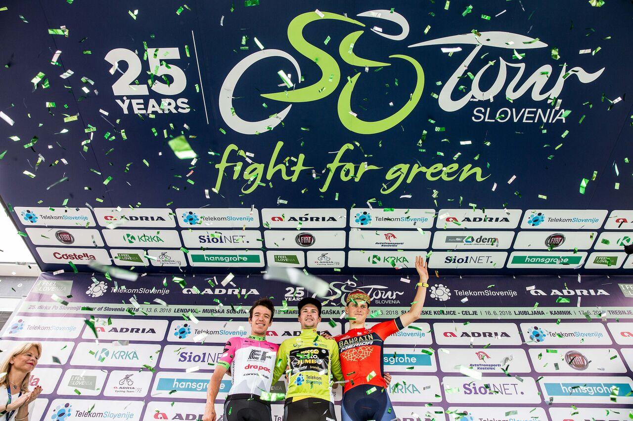 Roglič zmagal še na kronometru in dobil dirko Po Sloveniji