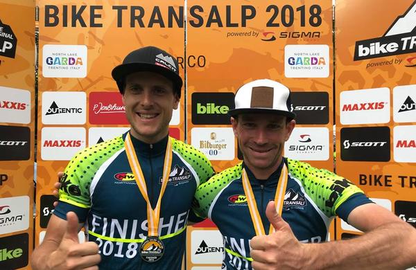 BIKE Transalp 2018: Kaufman in Kass zmagovalca že četrtič