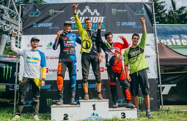Unior Downhill Cup 2018: V Cerknem tretja zmaga Luka Berginca