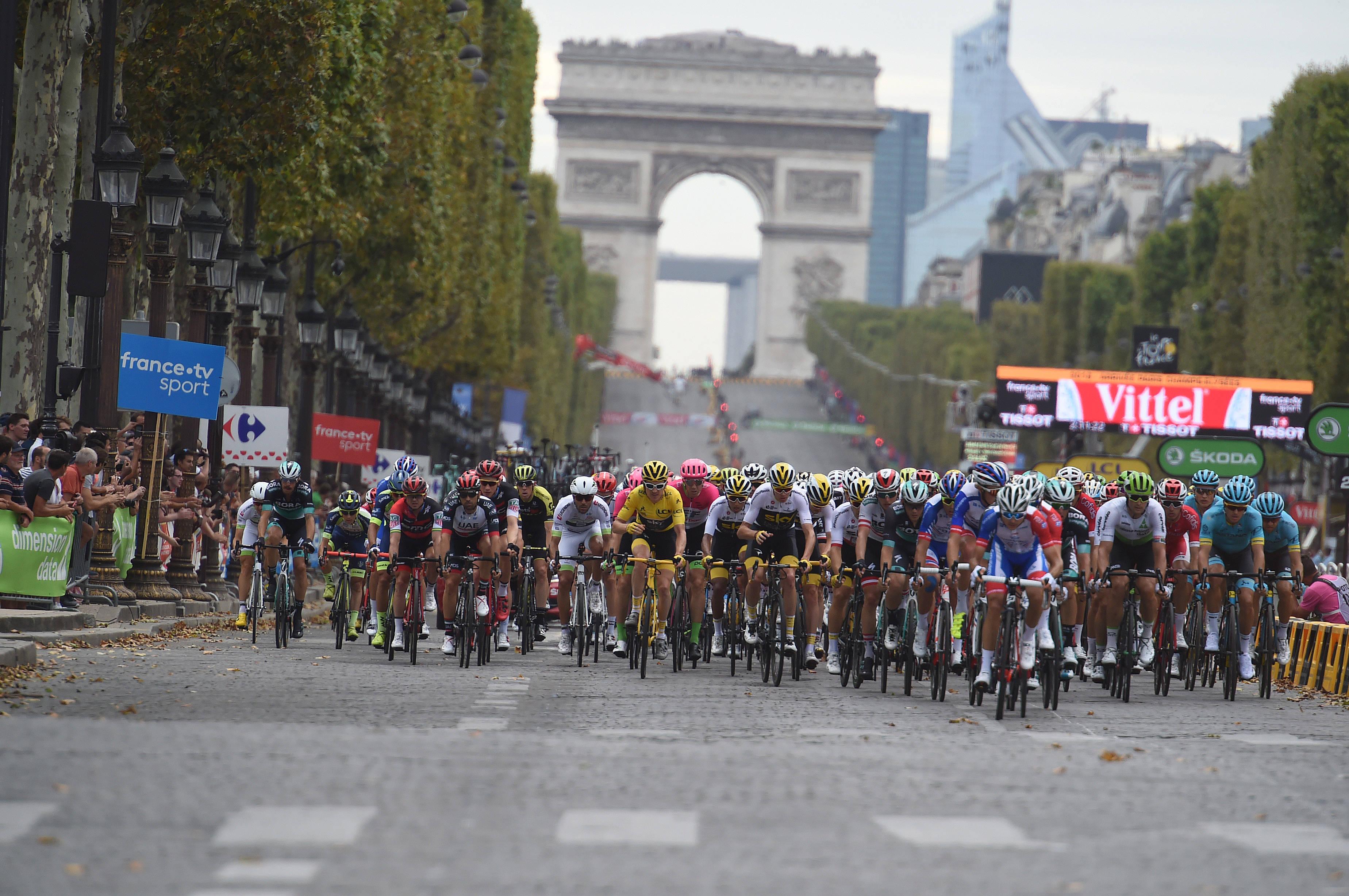 Na Touru niso našli motoriziranih koles