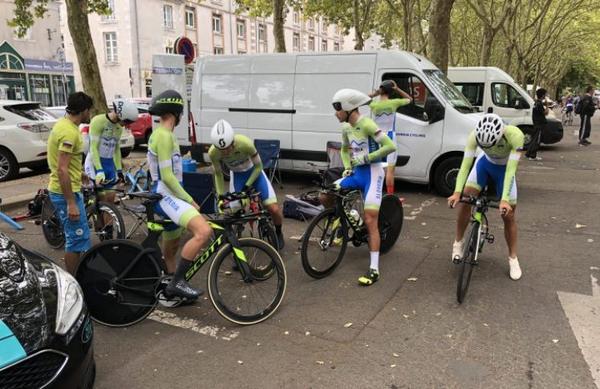 Mlajši člani drveli več kot 53 km/h za osmi čas
