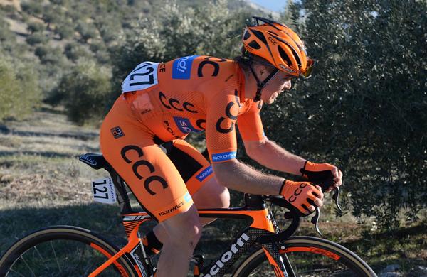 Jan Tratnk po 1. etapi samo za Alaphilippom