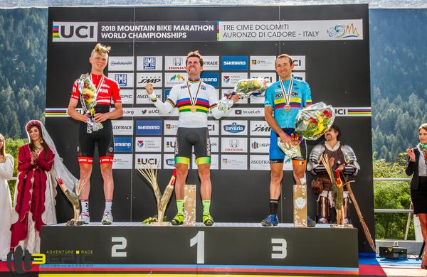 Anika in Enrique nova svetovna prvaka v gorsko kolesarskem maratonu