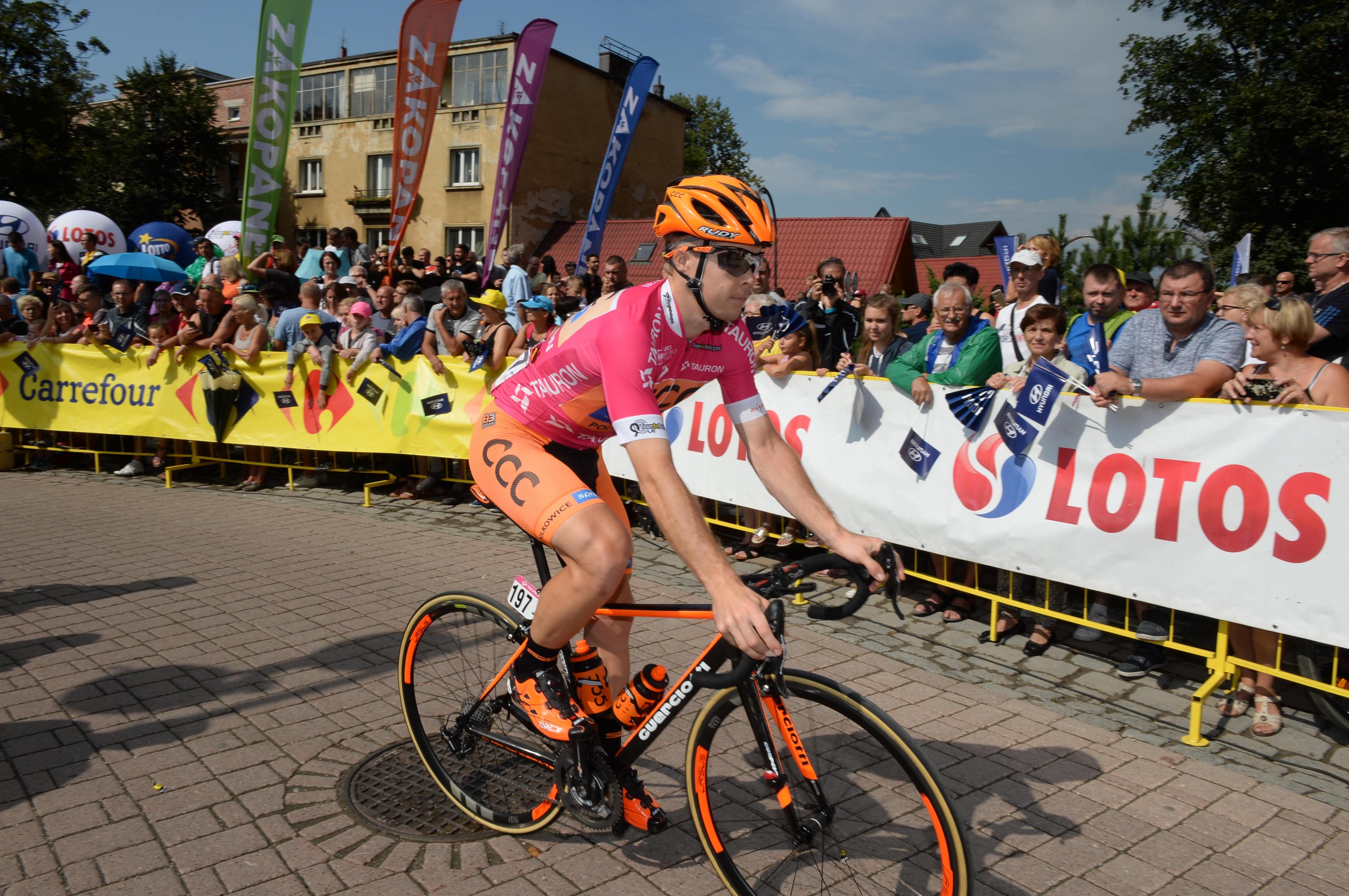 Jan Tratnik po sprinterski etapi ostaja drugi