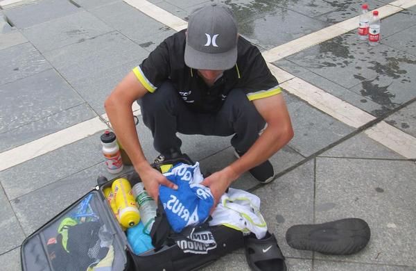 Matej Drinovec: Ko si ne želiš sestopiti s kolesa