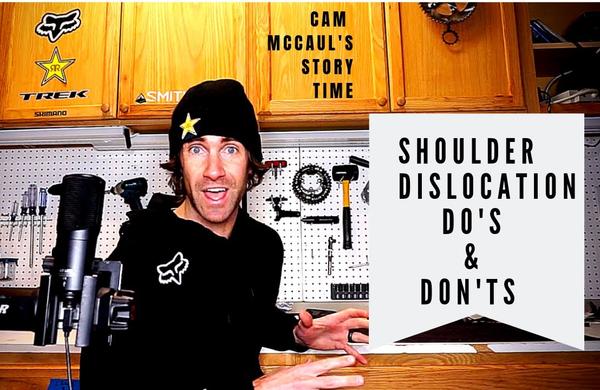 Zgodbice s Camom McCaulom: Vse o izpahu rame (VIDEO)