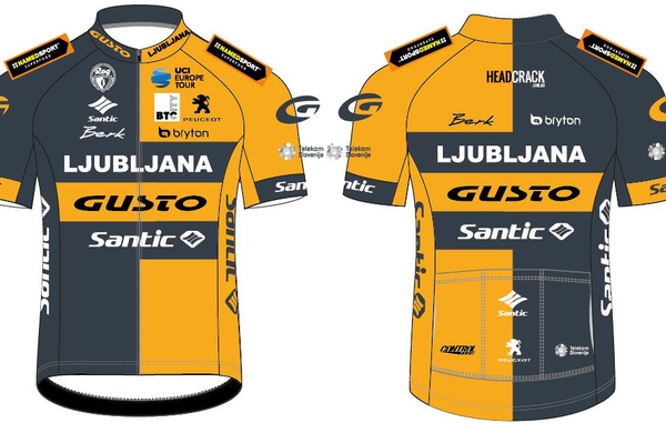 Ljubljanska članska ekipa predstavila drese in sponzorje