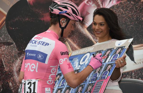 Spoznajmo Giro: Prihaja tudi že nosilec rožnate majice