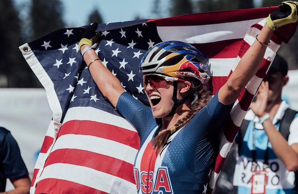 Svetovna prvakinja Kate Courtney se pridružuje ekipi Scott-SRAM