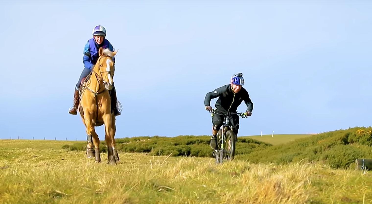 Konj proti kolesarju - Danny MacAskill (VIDEO)