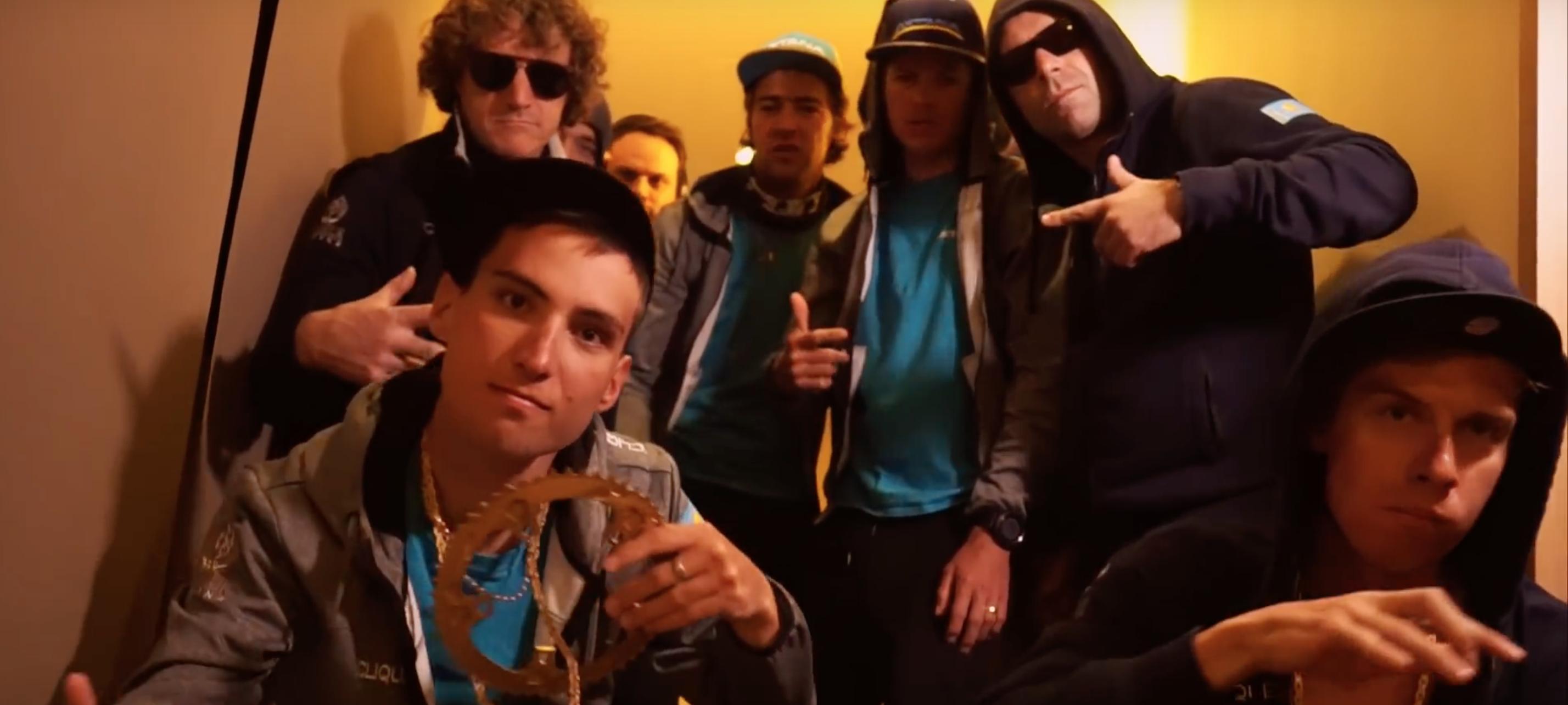 Astana se predstavi z rap pesmijo (VIDEO)