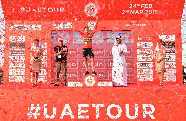 UAE Tour: Primož Roglič začel z zmago