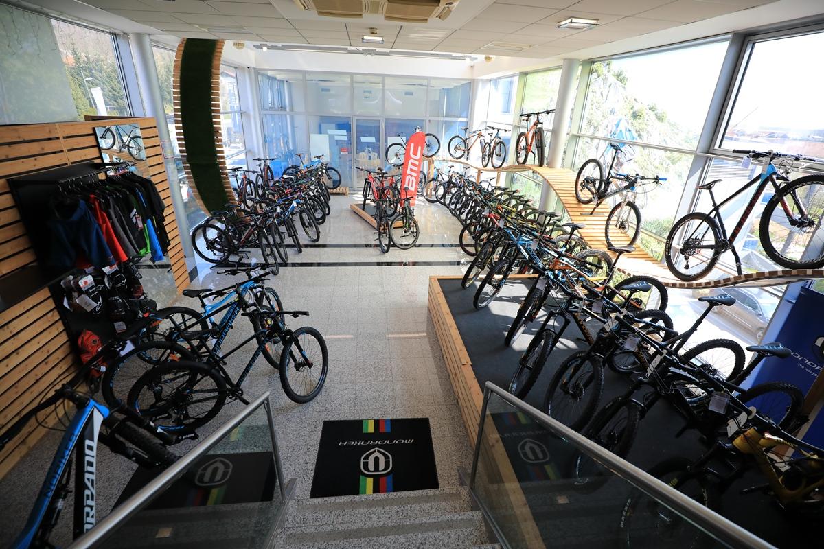 Kolesarski center Špan: bicikli v Španovem mestu