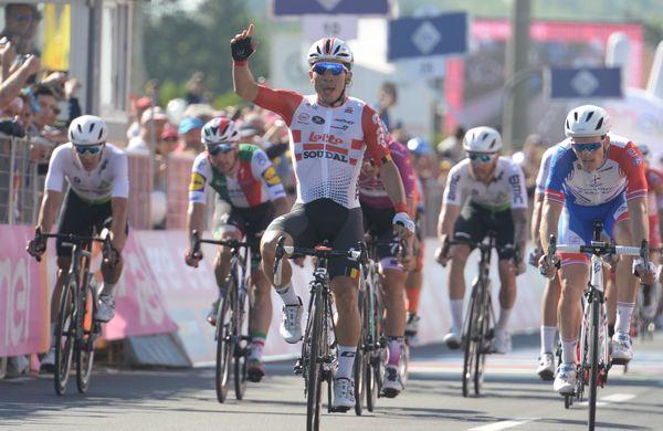 Ewan še drugič dobil sprint na Giru