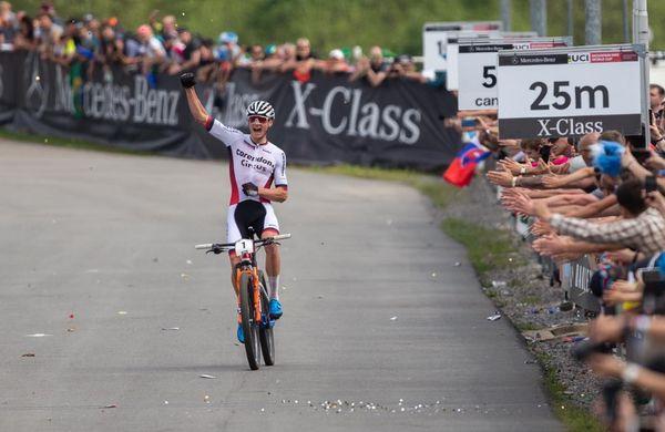 Mathieu Van Der Poel ter Courtnejeva zmagovalca na Češkem