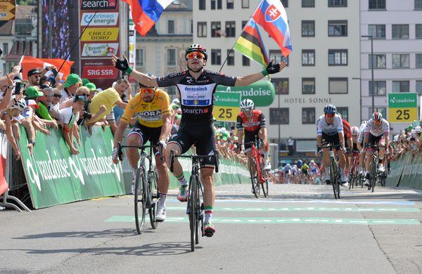 Matej Mohorič bežal, a sprinterji preveč odločeni