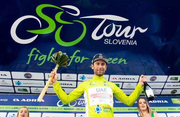Ulissi do prepričljive zmage, Pogačar in Polanc ostajata med najboljšimi