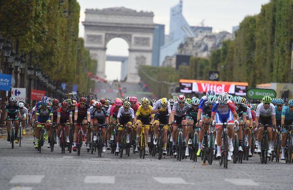 Rumeni dnevi: Kolesarji dirke po Franciji