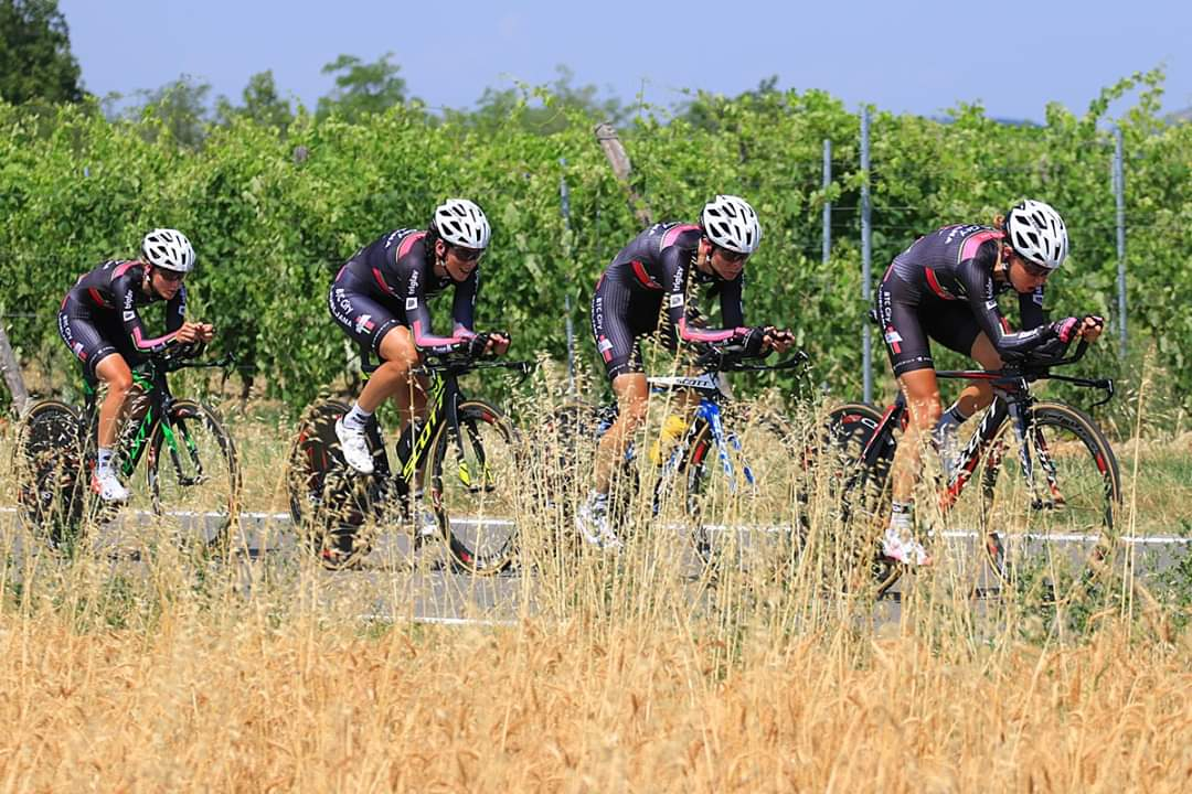 Giro Rosa 12. mesto za ekipo BTC City Ljubljana na uvodnem kronometru