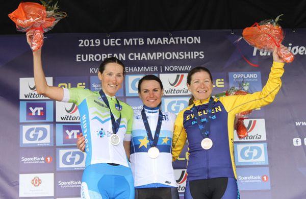 Blaža Pintarič do drugega mesta na Evropskem prvenstvu v MTB maratonu