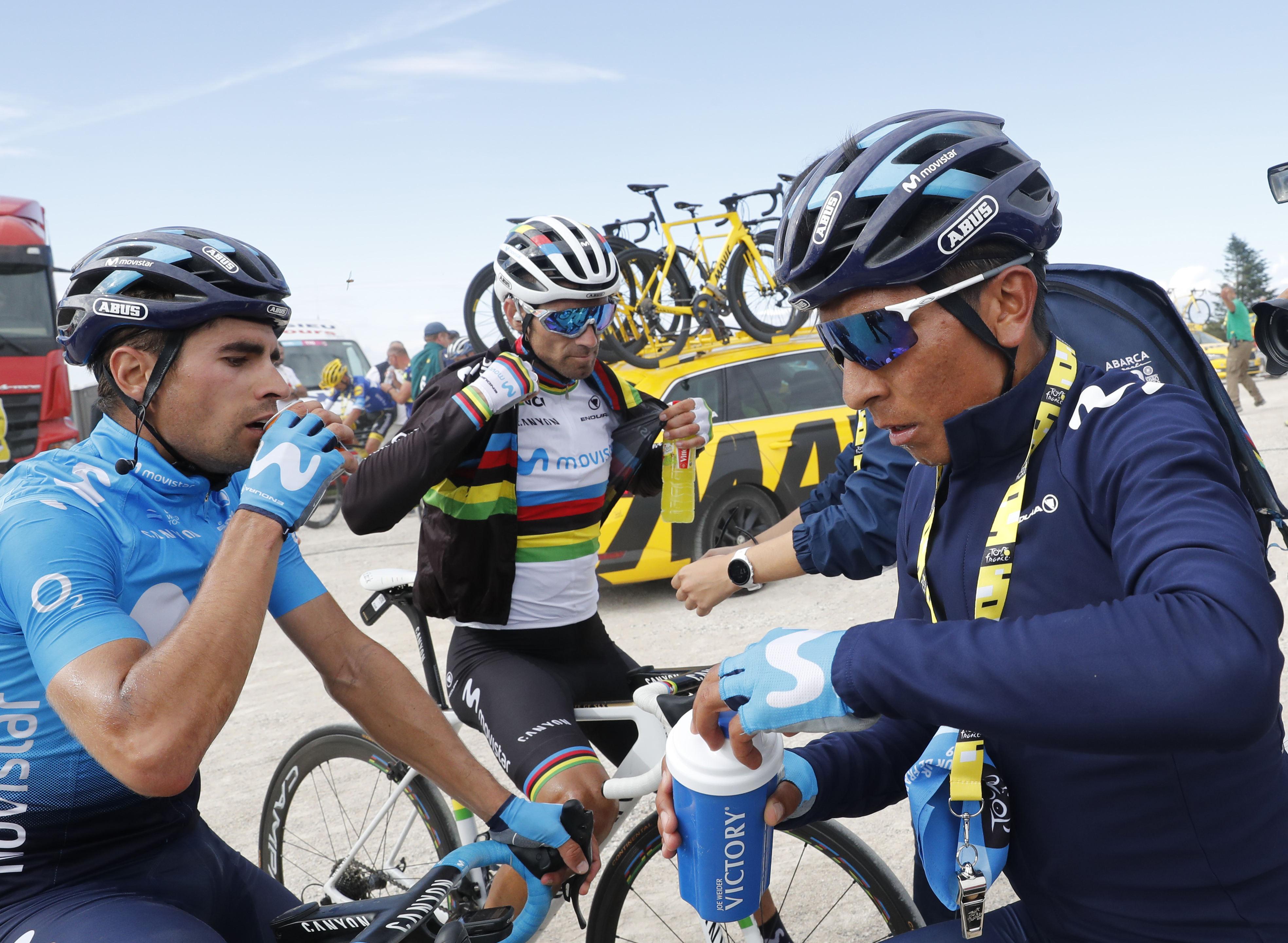 Movistar izgublja kolesarje