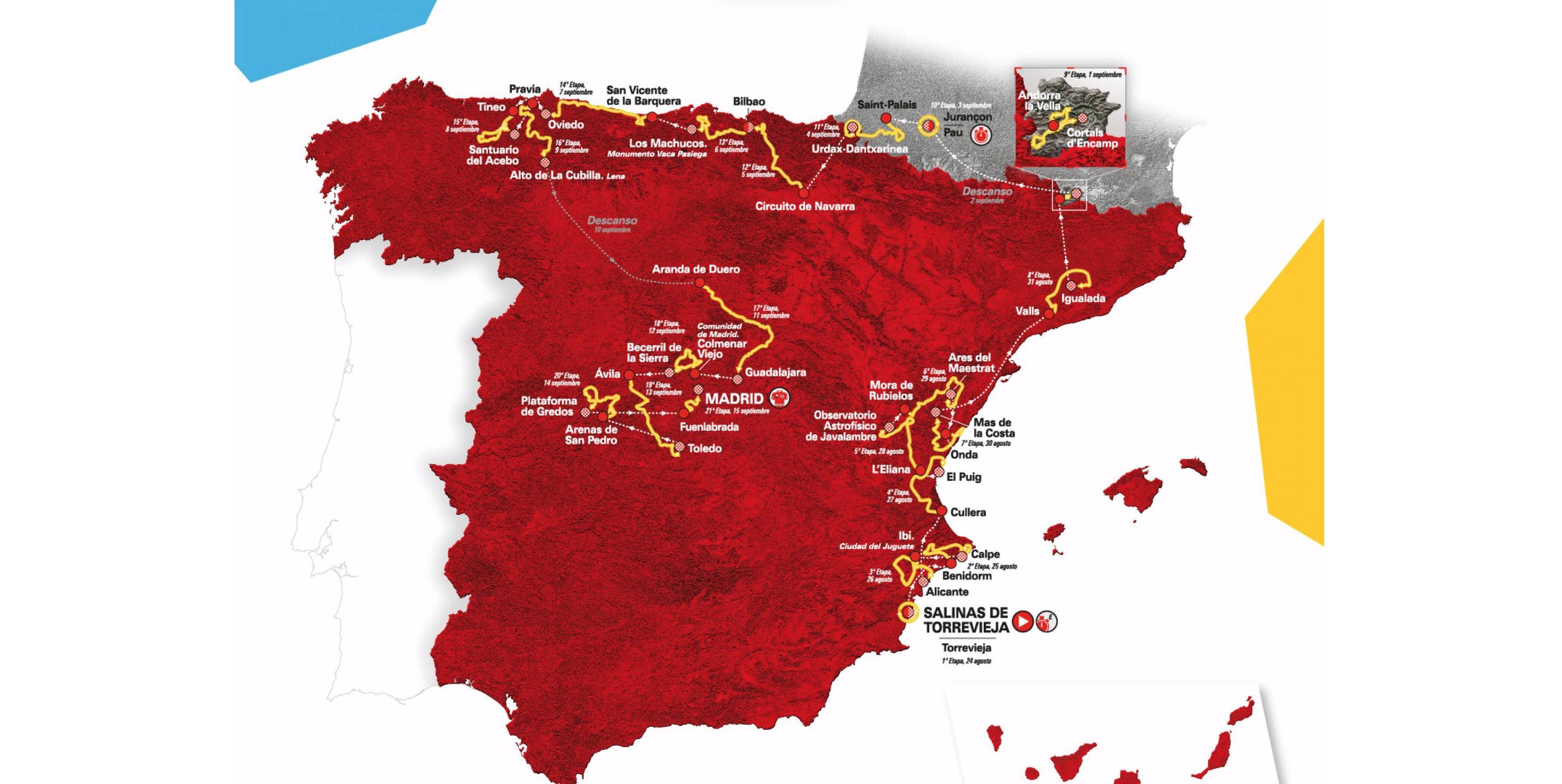 "Španska ""La Roja"": Odštevanje do Vuelte"