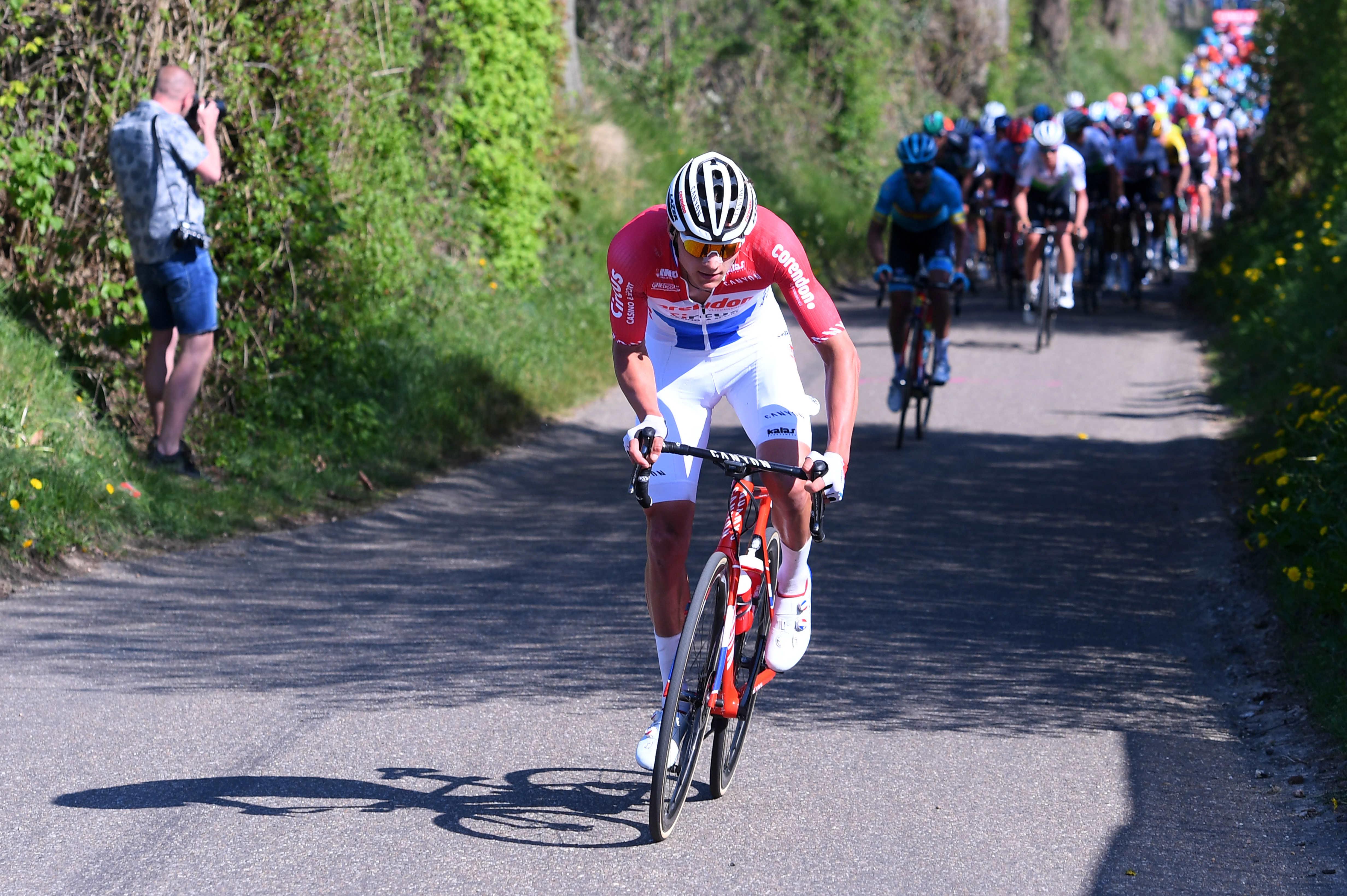 Van Der Poel takoj ugnal sprinterje: