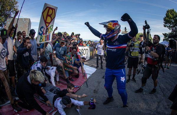 MTB Svetovno Prvenstvo Monte-Saint-Anne 2019: Loic Bruni ponovno najboljši med spustaši (VIDEO)