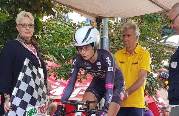 Giro della Toscana 3.mesto Anastasiia Chursina