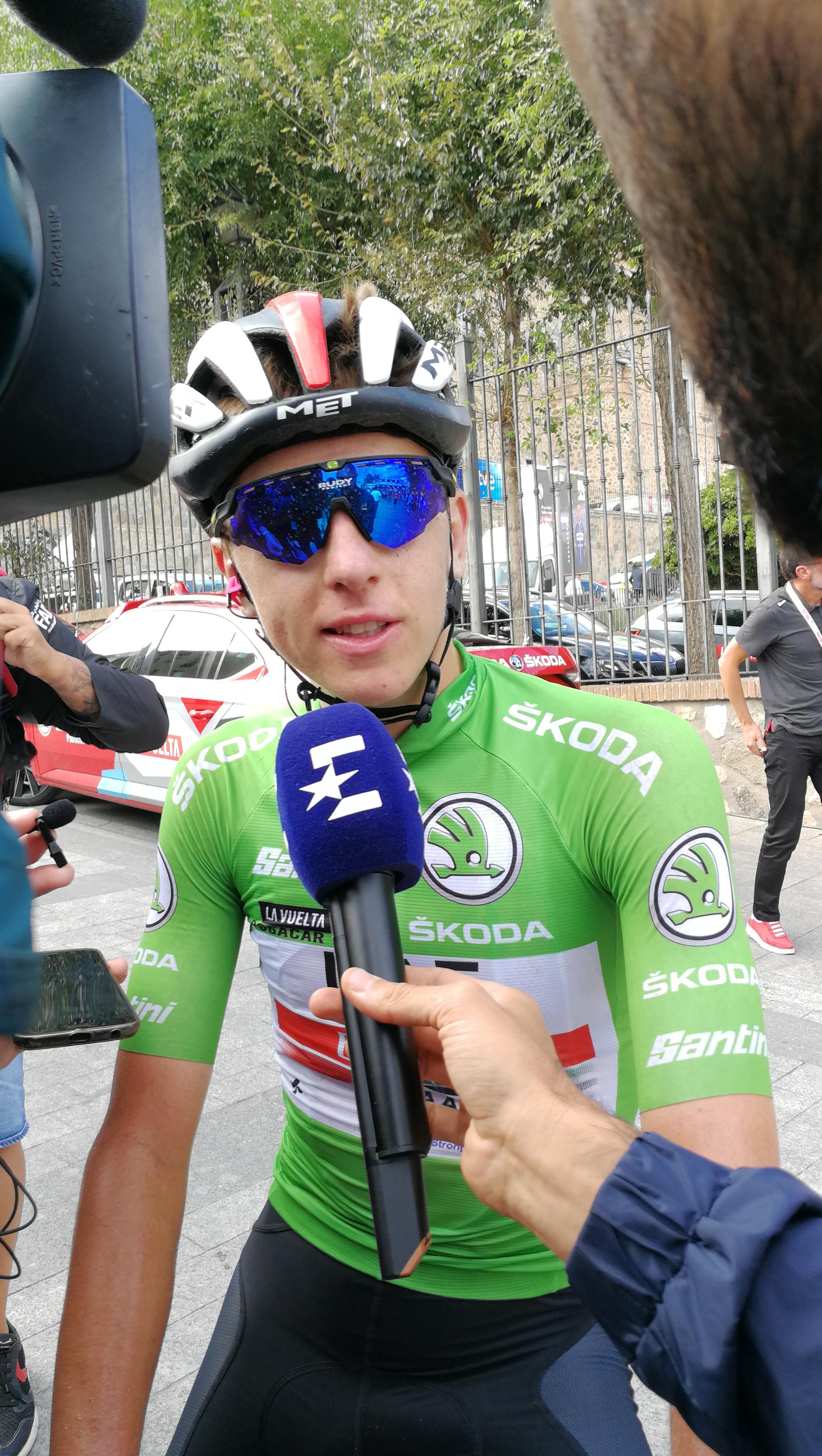 Sanjska Vuelta. Tadej Pogačar z epskim pobegom, Primož Roglič s suvereno vožnjo