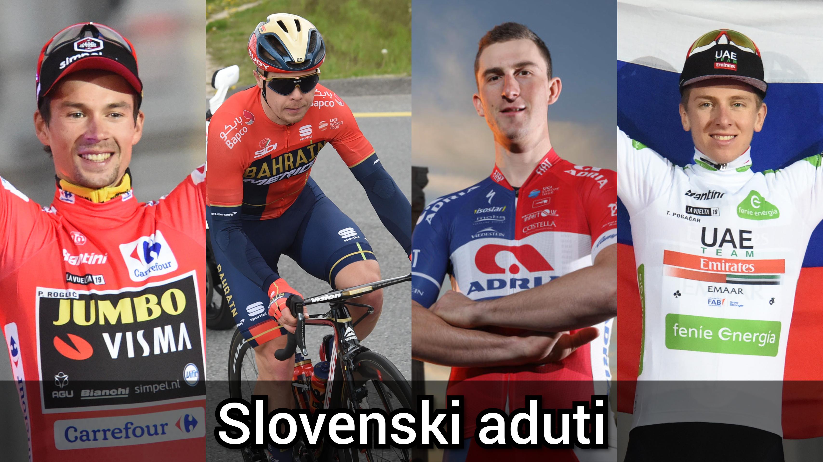 Slovenski aduti: Roglič, Pogačar, Tratnik in Per