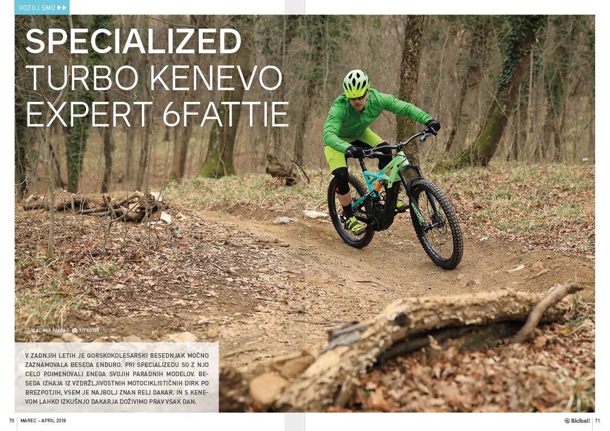Specialized Turbo Kenevo Expert 6Fattie