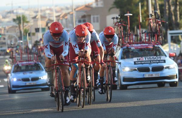 Katjušinim kolesarjem po plačal UCI
