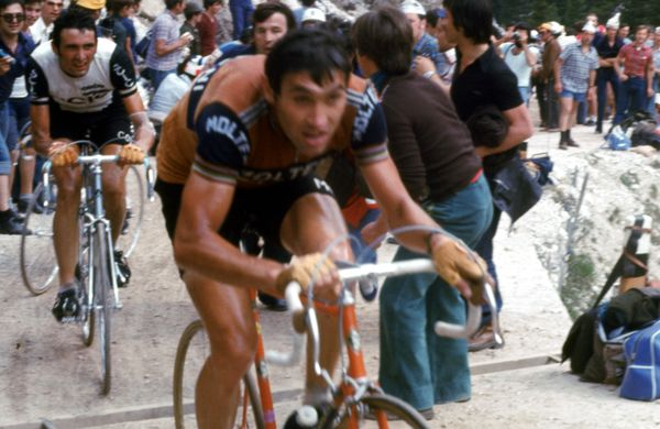 Trening: Merckxov teden pred Tourom