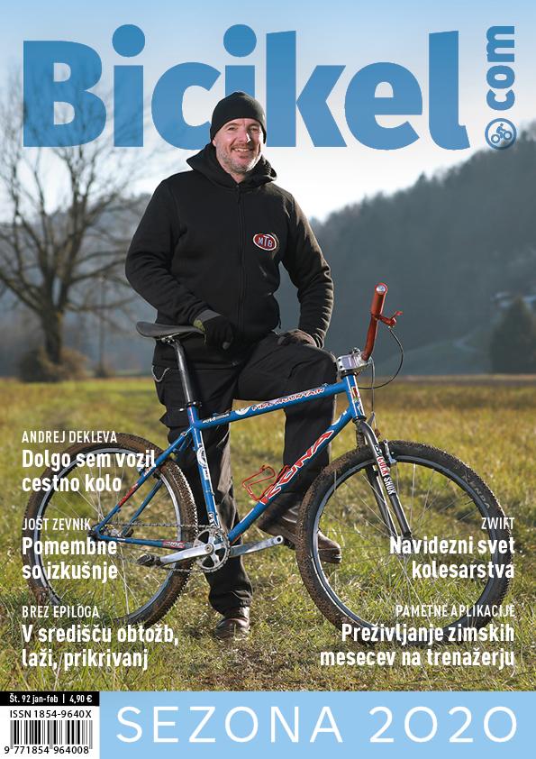 Desetletje - Revija BICIKEL številka 92 (jan-feb)