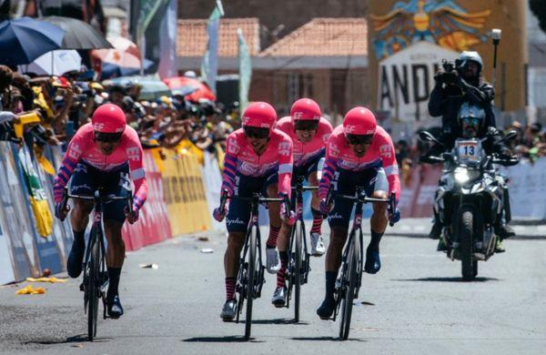 Začela se je spektakularna Kolumbija